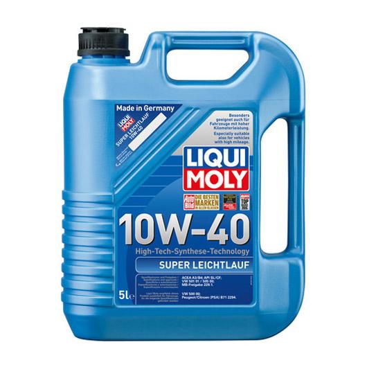 น้ำมันเครื่อง Liqui Moly Super Leichtlauf 10W-40