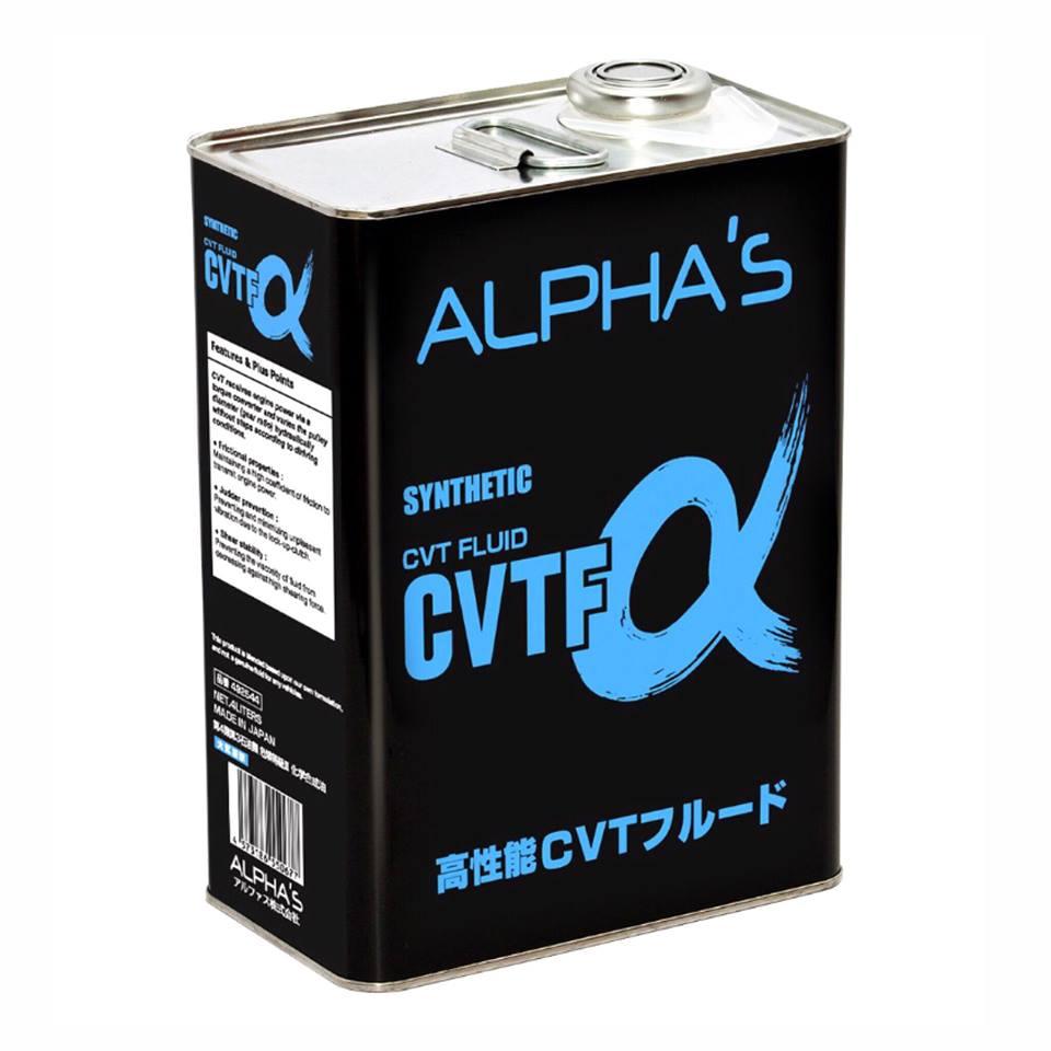 น้ำมันเกียร์อัตโนมัติ อัลฟ่าส์ สังเคราะห์แท้ ซีวีทีเอฟ